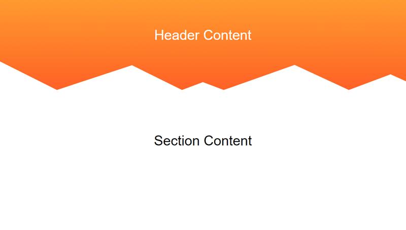 Demo Image: Creating Non-Rectangular Headers