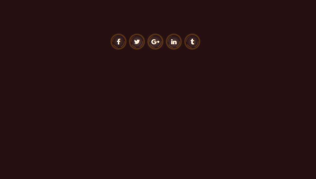 Demo image: Dark Social Icons