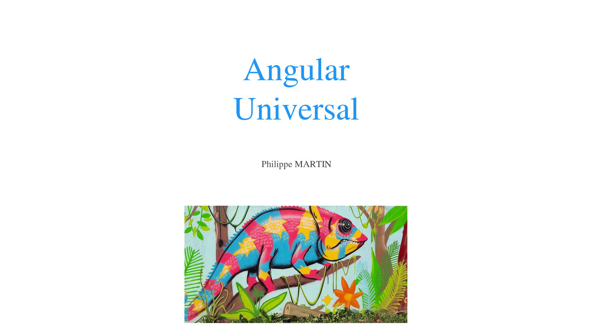 Book image: Angular Universal