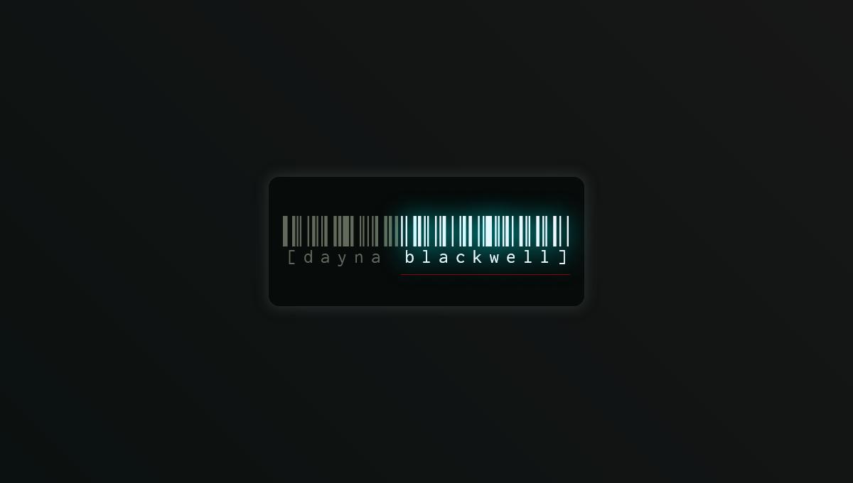 Demo image: Animated Barcode