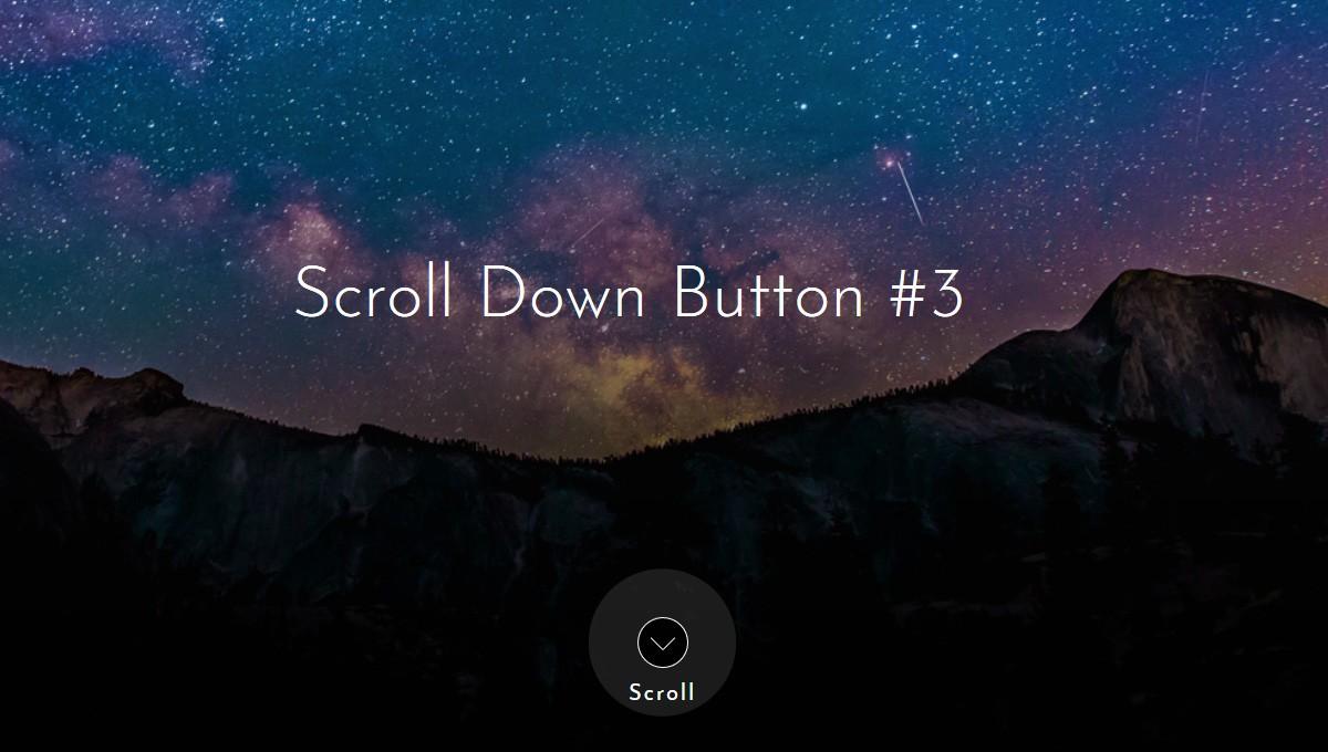 Demo image: 10 Scroll Down Arrows