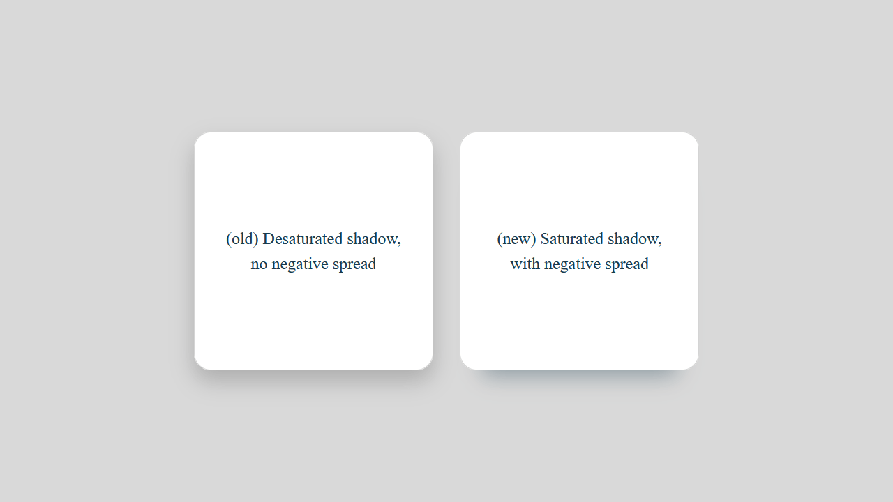 Demo image: Saturated vs Desaturated Box-Shadow