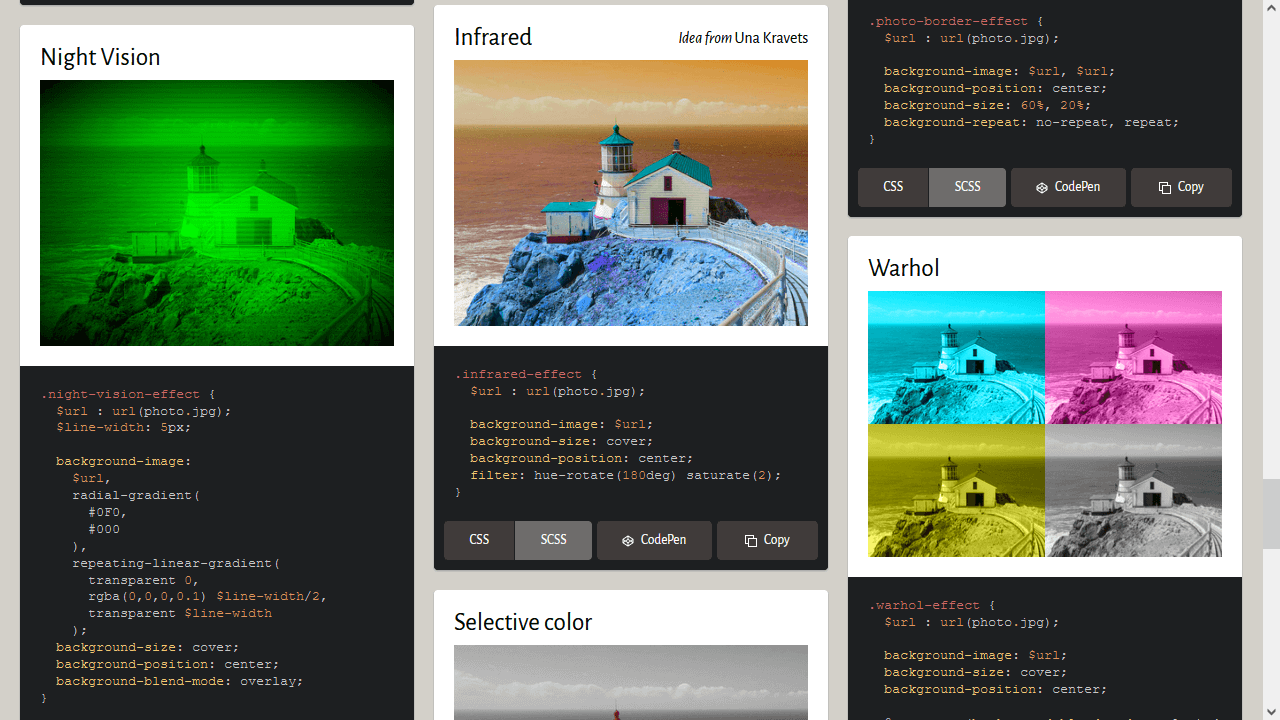 Demo image: Image Effects with CSS