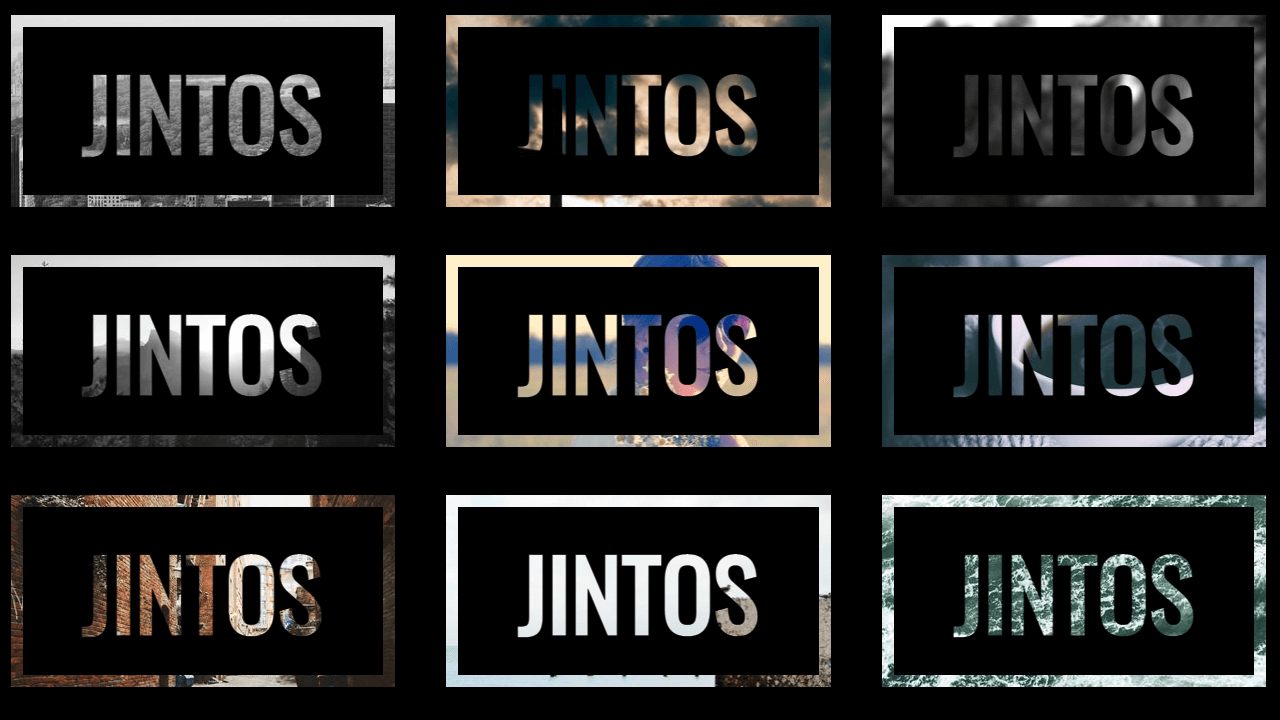 Demo image: background-clip:text CSS Effect