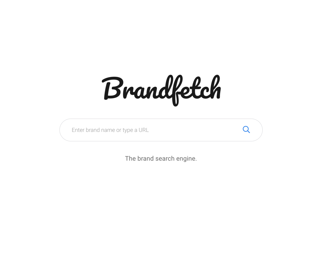 Brandfetch quickly fetches information such as web logo, color, font and banner pattern (Chrome extension)